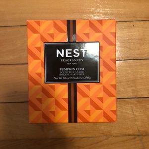 Brand new Nest pumpkin chai candle